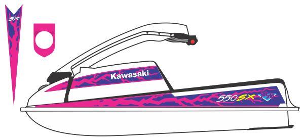 graphics for kawasaki 550sx graphics | www.graphicsbuzz
